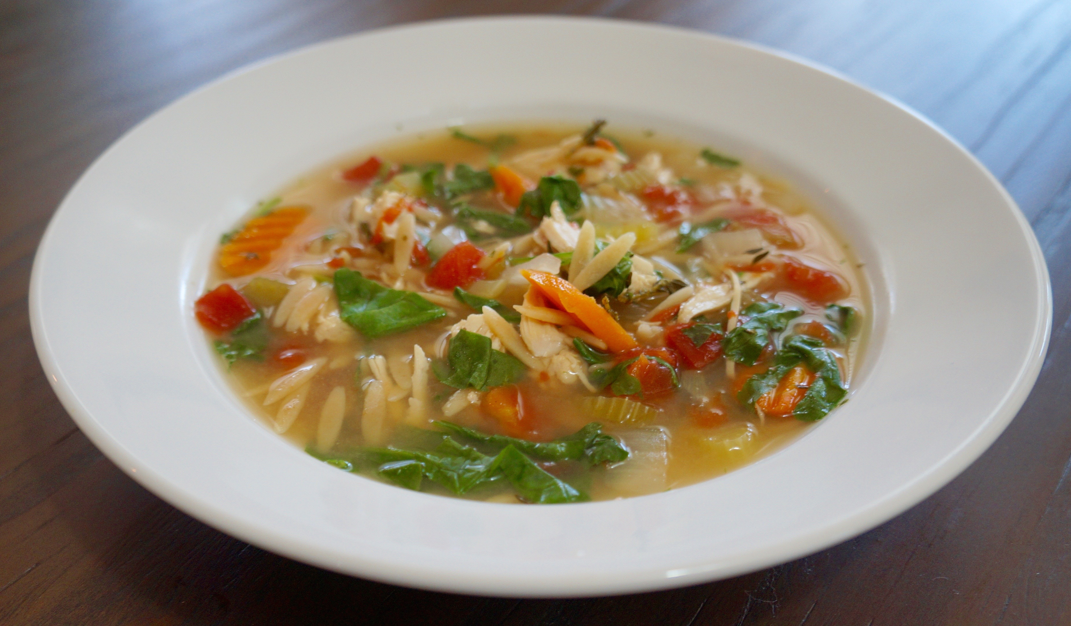 how to make chicken soup slow cooker